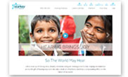Starkey Hearing Foundation Website